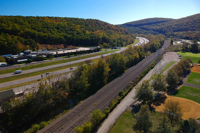 New York Thruway and Ramapo Service Area - Sloatsburg, New York