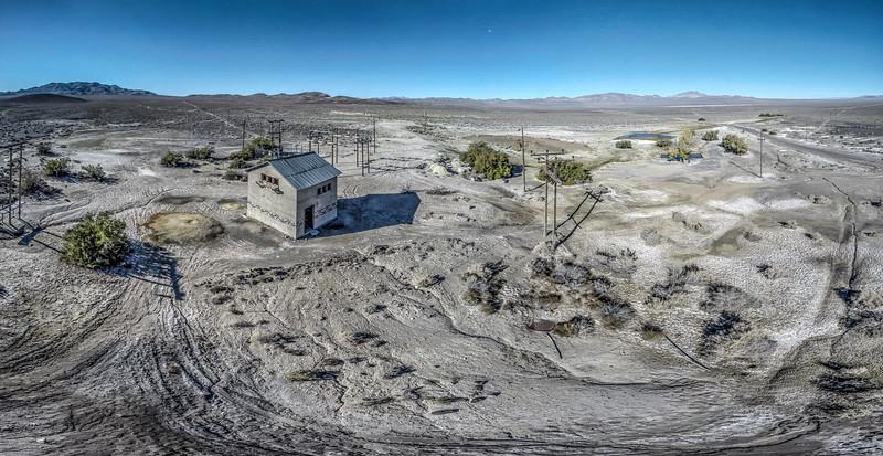 107 Hot springs, Alkali, Nevada.