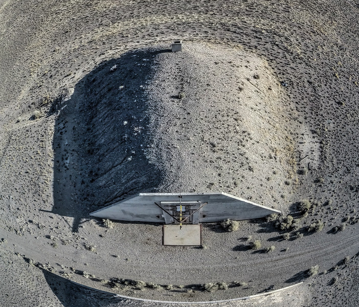 061 Decommissioned military bunkers near Tonopah.  (5 images)