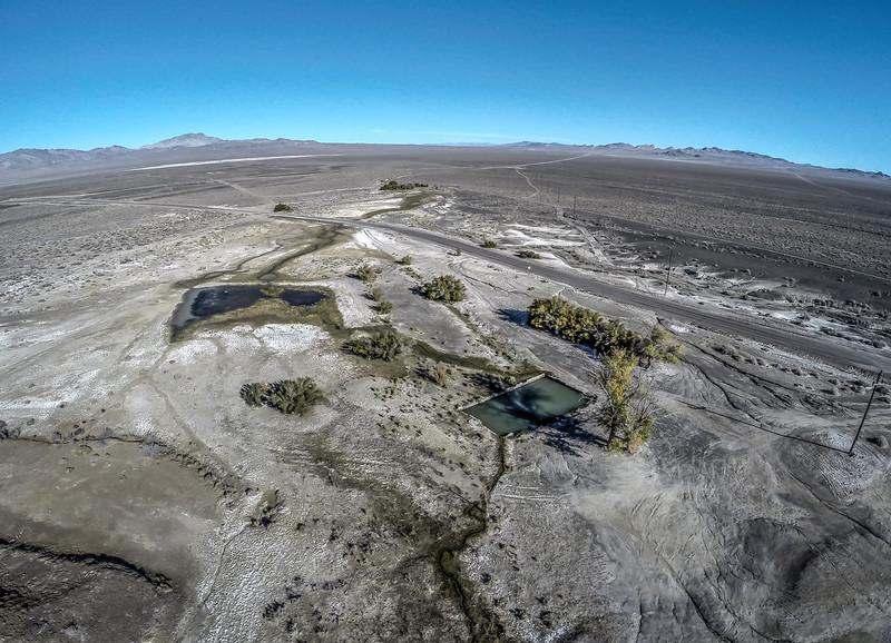 104 Hot springs, Alkali, Nevada.