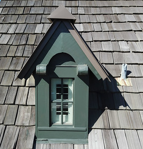 7. Southeast rear dormer