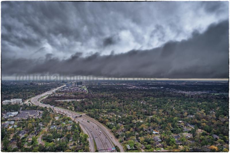 City Center Storm Clouds 2