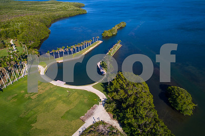 Aerial image of Deering Estate Miami FL