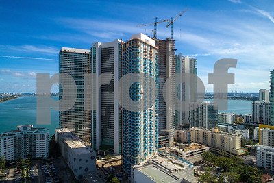 Aerial image Paraiso on the Bay Edgewater Miami