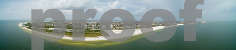 Aerial drone image Marco Island Florida