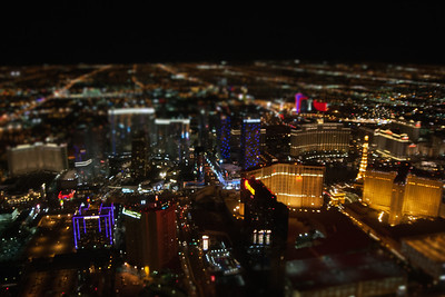 Downtown Vegas at Night