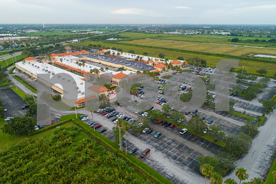 Aerial image Florida Keys Outlet center shops