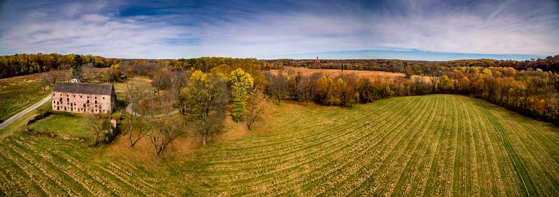 18th Century Farm Panorama