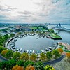 Circular Waterfront Marina