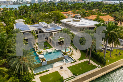 Mega mansions Miami Beach Star Island