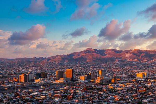 El Paso Downtown Sunrise
