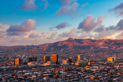El Paso Downtown Sunrise