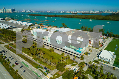 Aerial photo of Mast Academy Miami Key Biscayne