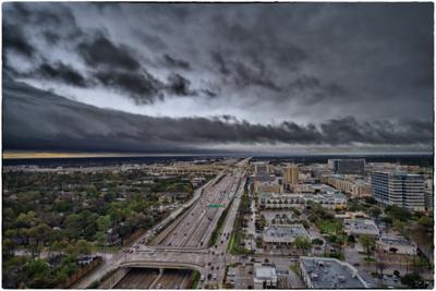 City Center Storm Clouds 1