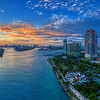 Miami South Beach Aerial Panoramic