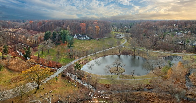 Willows Park Preserve  Aerial Panorama