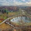 Willows Park Preserve  Aerial Panorama