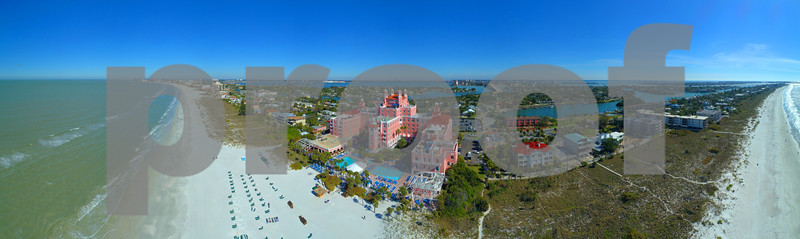 Aerial image of The Don CeSar St Pete Beach FL