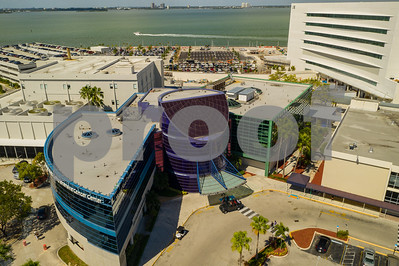 Aerial photo Mt Sinai Medical Center Hospital Miami Beach