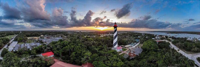 Sunset - St Augustine Lighthouse