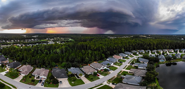 Storm from the drone