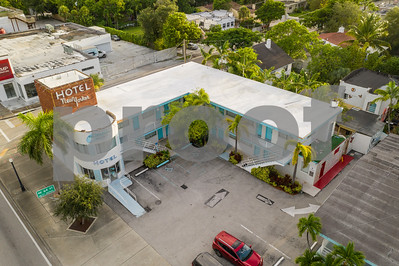 Aerial image of Hotel New Yorker Miami Florida