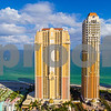 Aerial image Aqualine and Mansions at Aqualina Sunny Isles Beach FL
