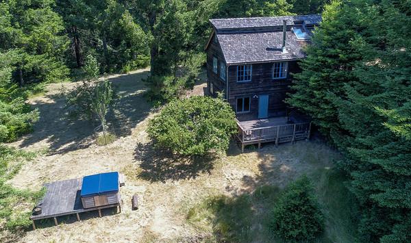 Aerial Photos 31691 Middle Ridge Road, Albion, CA