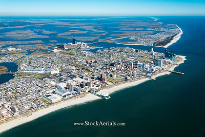 Aerial Photography of Atlantic City NJ
