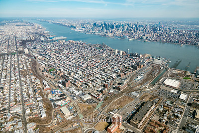 Aerial Photography of Hoboken NJ