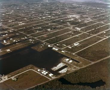 Aerial Naples Park off Vanderbilt