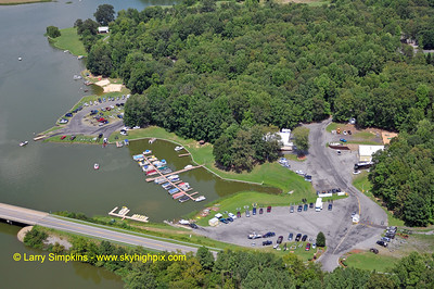 Christopher Run Campground and Marina.