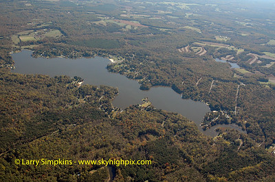 Lake Louisa, (Blue Ridge Shores), Louisa County, Virginia. October 2005 Image# 026