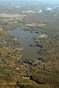 Lake Louisa, (Blue Ridge Shores), Louisa County, Virginia. October 2005 Image# 027