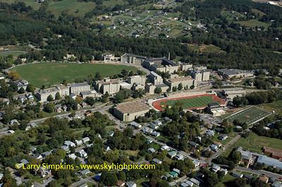 Virginia Military Institute, Lexington, Virginia. September 2006, Image# 017