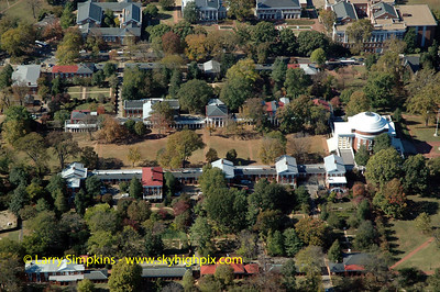 """""""The Lawn"""" University Of Virginia Campus, October 2007, Image# 010"""