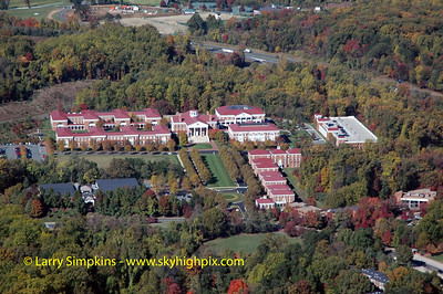 University of Virginia Campus, Darden School of Business, October 2008, Image# 009