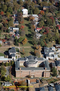 """""""The Lawn"""" University of Virginia Campus, October 2008, Image# 006"""