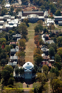 """""""The Lawn"""" University Of Virginia Campus, October 2007, Image# 012"""