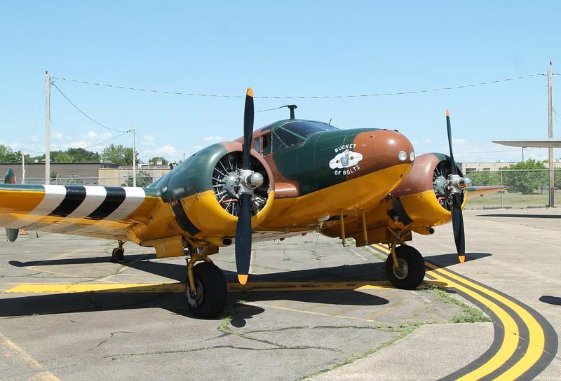 Aircraft utilized - 1946 Beech C-45 Expiditor N70GA