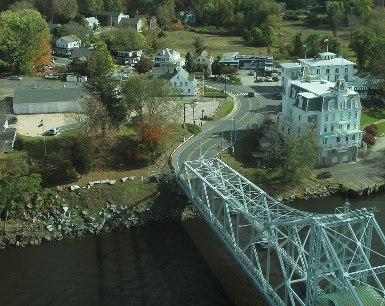 Rt. 82 - Goodspeed Swing Bridge over CT River