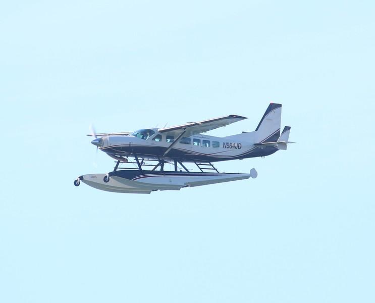 Aircraft utilized; 2007 Cessna 208 w/Floats [N984JD]