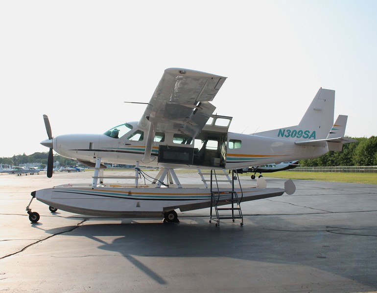 Aircraft utilized; 1999 Cessna 208 Caravan on floats [N309SA]