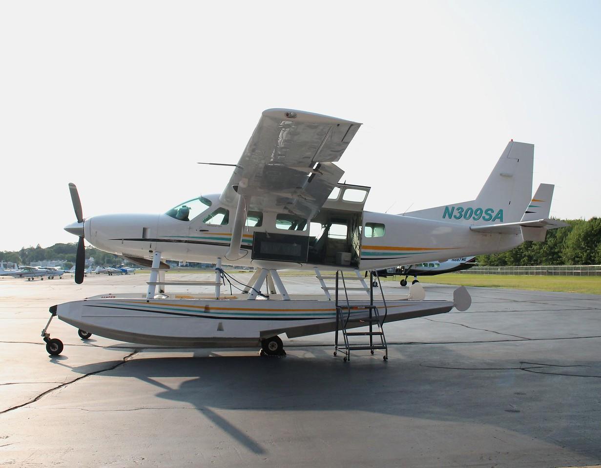 Aircraft utilized; 1999 Cessna 208 Caravan on floats [N309SA]