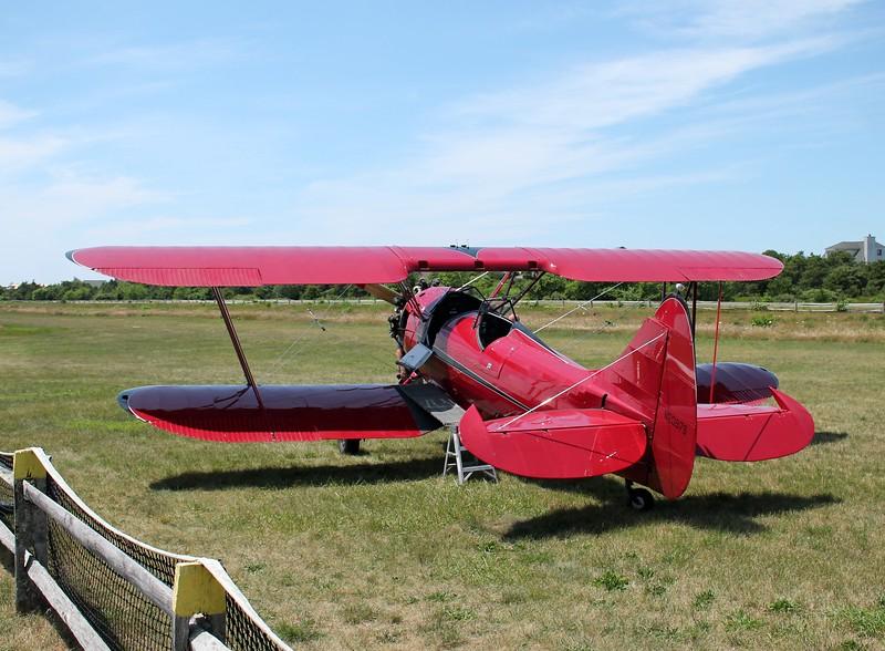Aircraft utilized; 1940 Waco UPF-7 [N20979]