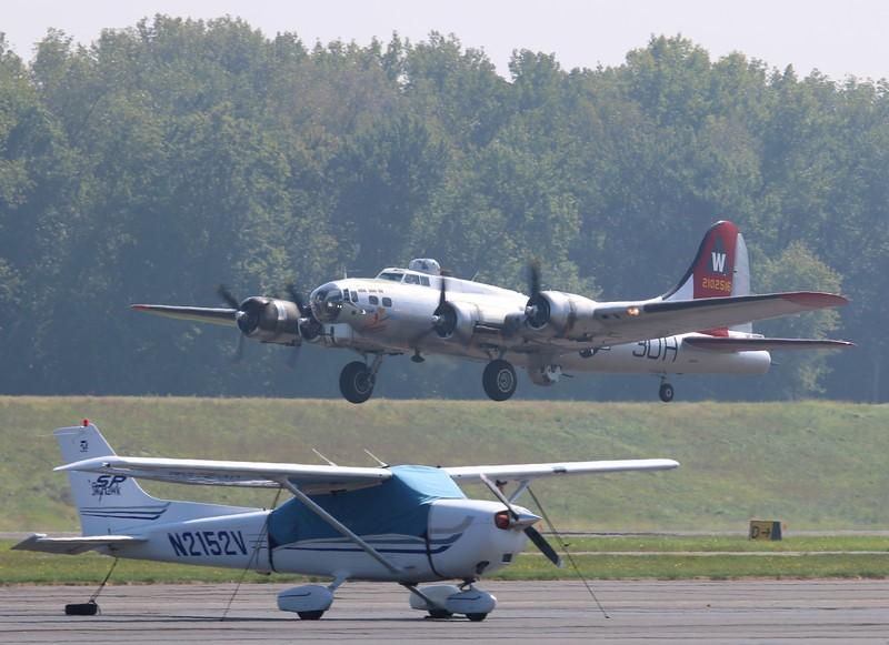 Departing runway 02 KHFD