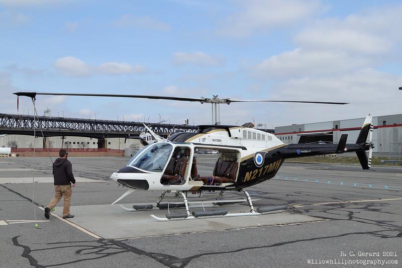 Aircraft utilized; 1989 Bell 206L-3 Long Ranger [N217MH]