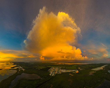 Pine Island Cove Aerial