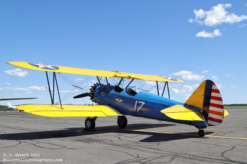 Aircraft utilized Boeing PT-13 [N4813V]