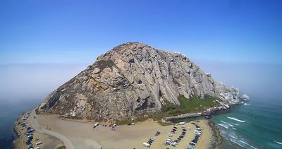 Morro Rock at Morro Bay, Ca.